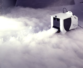 Heavy fog machine