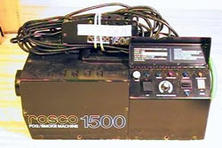 Rosco 1500 with remote
