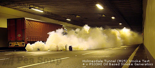 Smoke Machines For Air Flow Visualisation